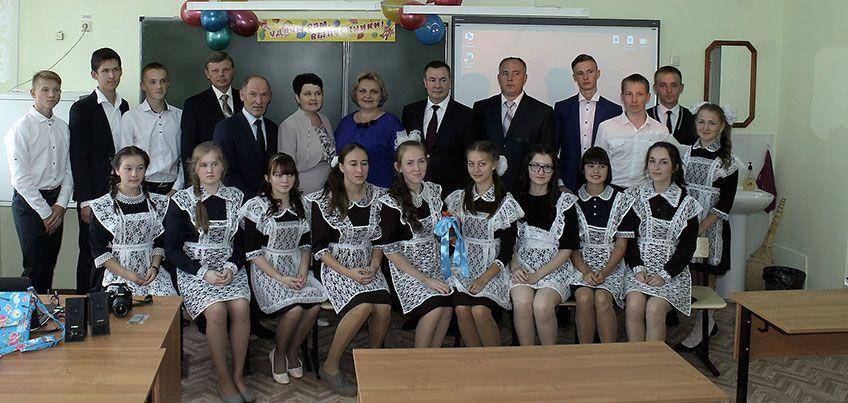 АО «Транснефть – Прикамье» подарило школьникам в Удмуртии интерактивный класс