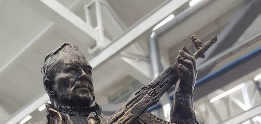 В сети появился макет памятника ижевскому оружейнику Михаилу Калашникову, который поставят в Москве