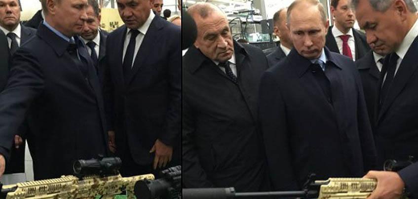 На концерне «Калашников» в Ижевске побывал директор ФСБ России Александр Бортников