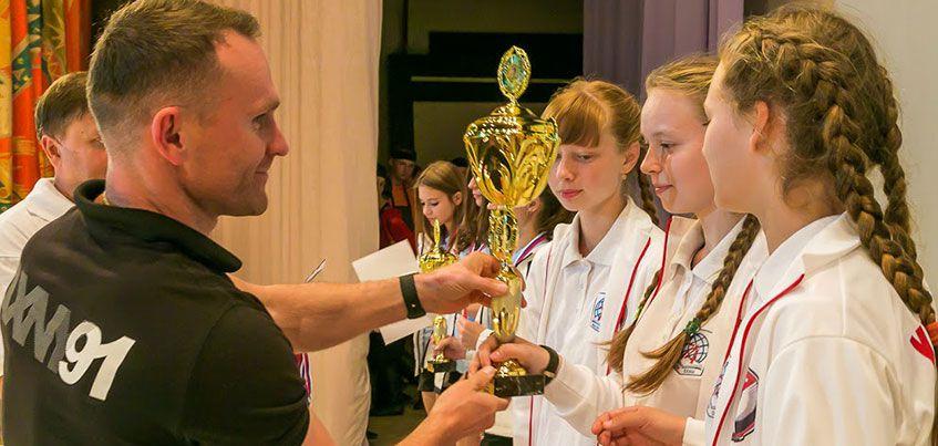 Школьники из Удмуртии заняли 3 место на Всероссийских спортивных играх