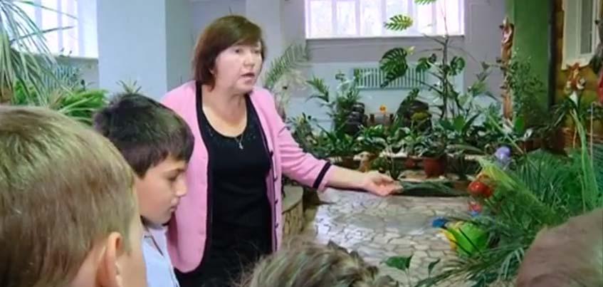 В ижевском детском саду открыли зимний сад