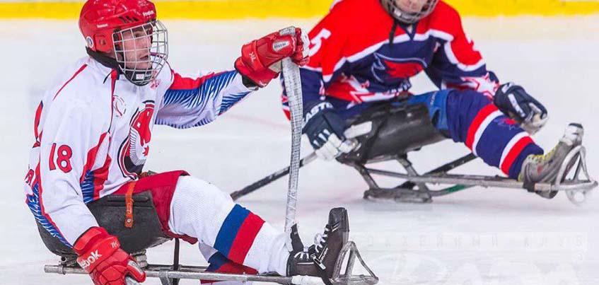 Следж-хоккеисты сборной Удмуртии стали победителями турнира «Кубок Главы Удмуртии»