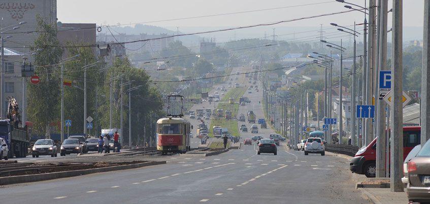 С 9 октября на участке улицы К. Маркса в Ижевске начнут эвакуировать автомобили