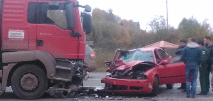 Два человека пострадали в аварии в Завьяловском районе Удмуртии