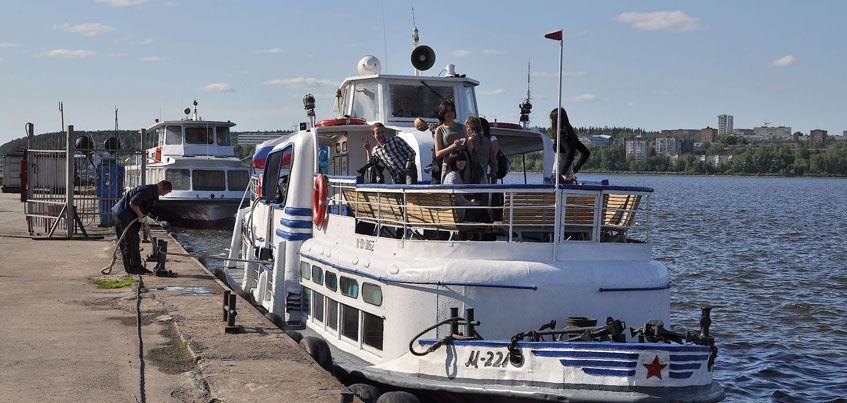 Теплоходы Ижевск-Воложка прекращают движение