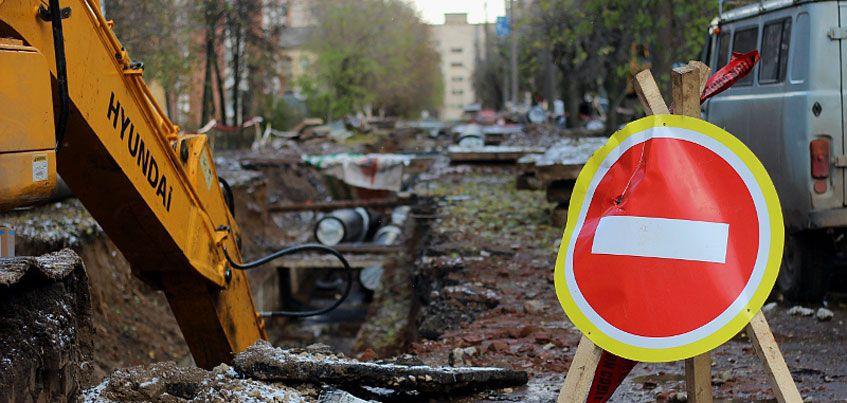 На улице Нижней в Ижевске перекрыли движение