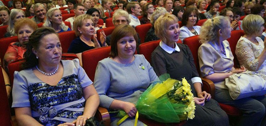День Учителя прошел в Ижевске