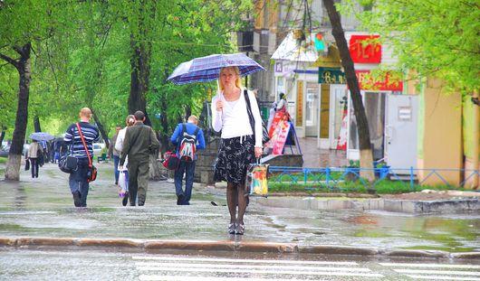 Жару в Удмуртии может сменить дождливая погода