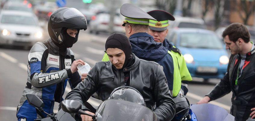 В Удмуртии задержали более 100 мотоциклистов за нарушение ПДД