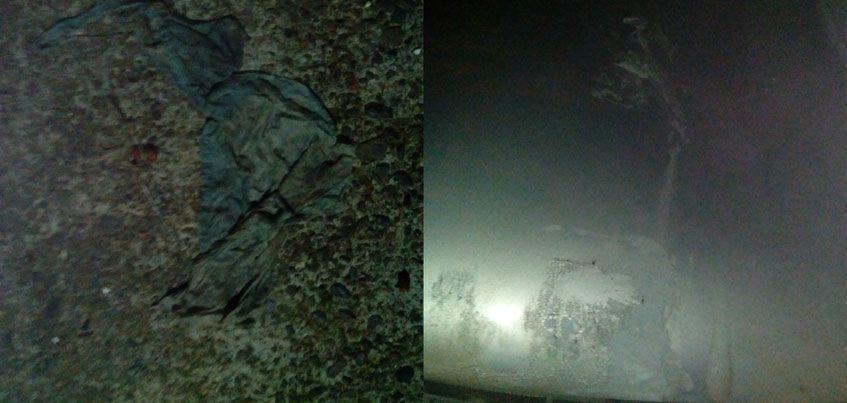 На улице Пушкинской неизвестный растворителем испортил четыре машины