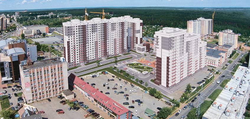 Завершается строительство жилого комплекса «Холмогоровский»