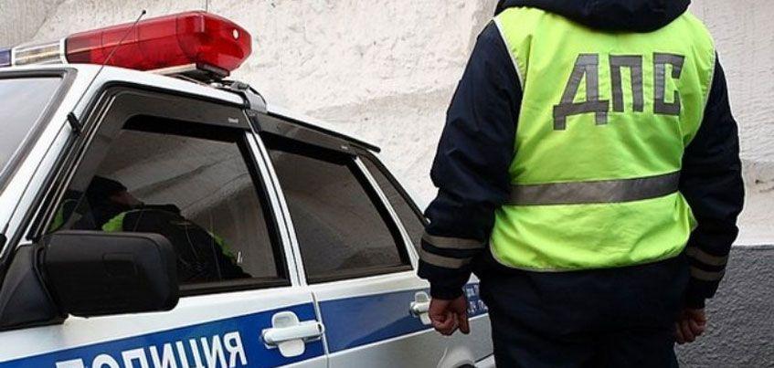 Автомобилист пытался скрыться от ДПС на машине с простреленными шинами