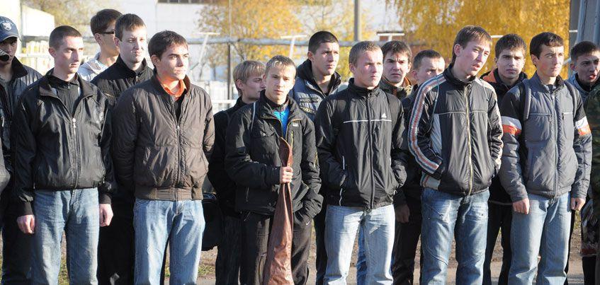 1,5 тысячи юношей из Удмуртии отправятся служить в этот осенний призыв