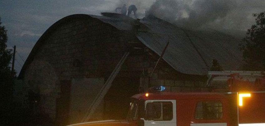 В Вавожском районе Удмуртии произошёл пожар