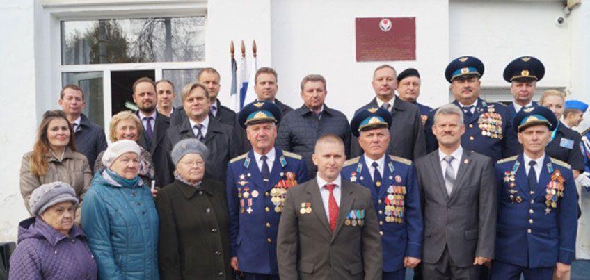 В Ижевске открыли Аллею героев у Школы юных летчиков