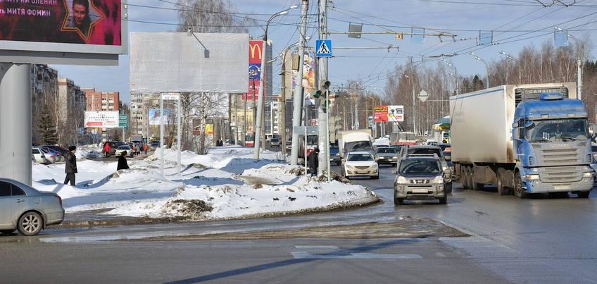 В Ижевске уберут часть выделенной полосы для общественного транспорта