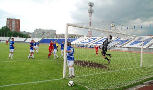 Ижевские футболисты сыграли вничью с тюменской командой