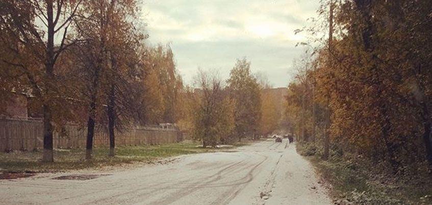 Фотофакт: В Ижевске выпал первый снег