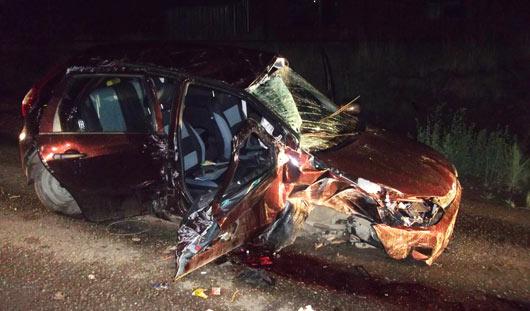 В Удмуртии из-за пьяного водителя погиб пассажир