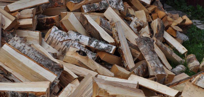 Пожарные помогли дровами семье из Ижевска