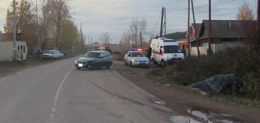 В ДТП в Завьялово пострадали 3 человека