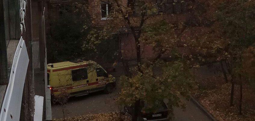 В Ижевске из окна 4 этажа выпала пенсионерка