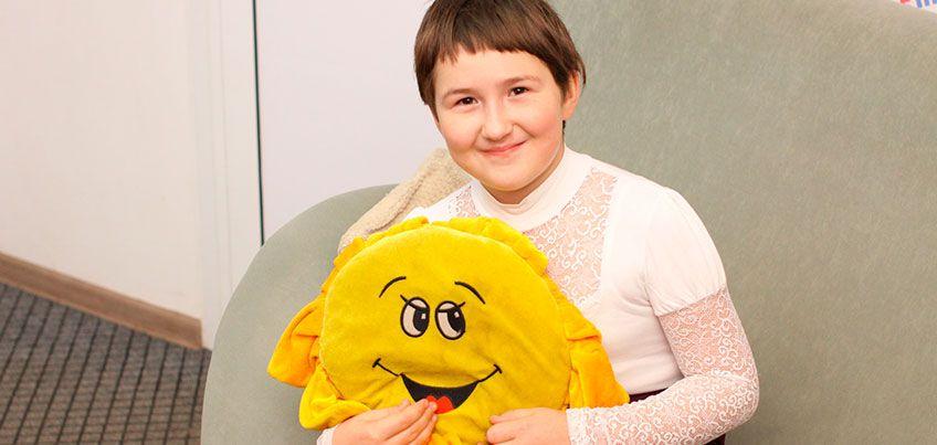 9-летней Алине из Удмуртии собрали всю сумму на проведение МРТ в течение года