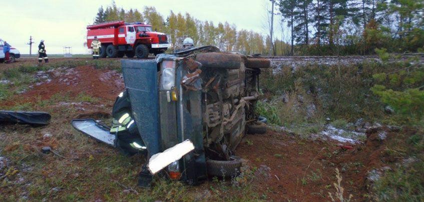 В ДТП на Сарапульском тракте пострадали 3 человека