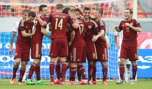 Футболисты России выиграли у сборной Марокко