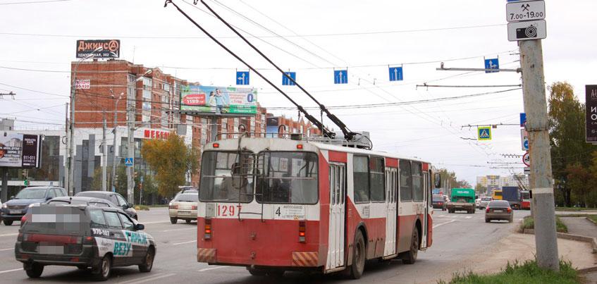В Ижевске еще на трех участках отменят выделенную полосу для общественного транспорта