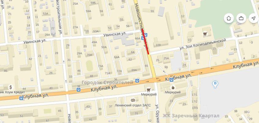 Участок улицы Новошестнадцатая временно перекроют в Ижевске