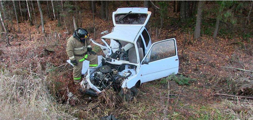 51-летний водитель погиб при столкновении «Оки» и «Дэу Нексии» в Удмуртии