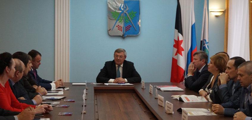 Глава города Юрий Тюрин: «Ижевск готов к развитию партнерских отношений с соседними регионами»