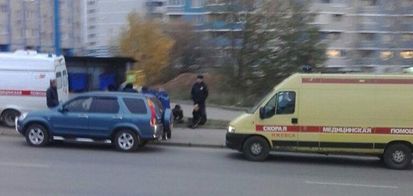 Двух молодых людей задержали сотрудники полиции в районе Ильфата Закирова в Ижевске