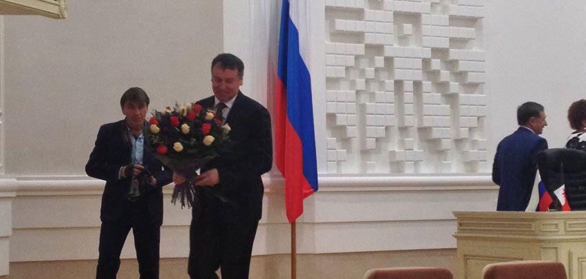 Юрий Тюрин получил мандат депутата Госсовета Удмуртии