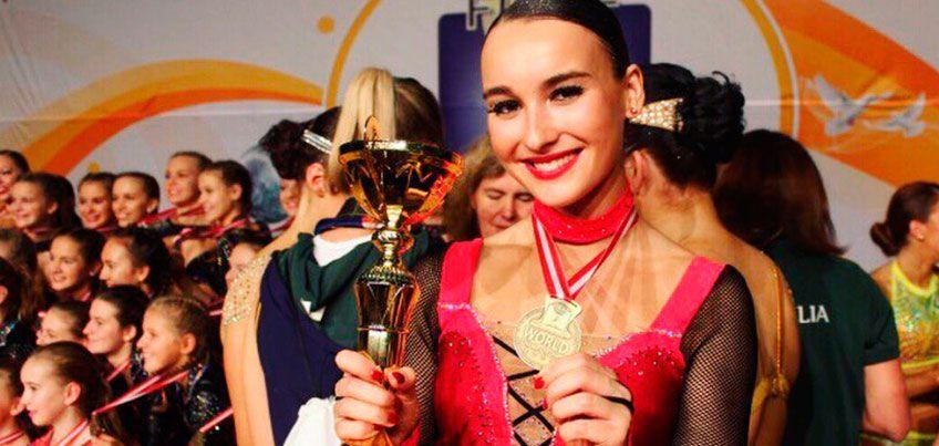 Ижевчанка Софья Маркина стала чемпионкой мира по фитнес-аэробике