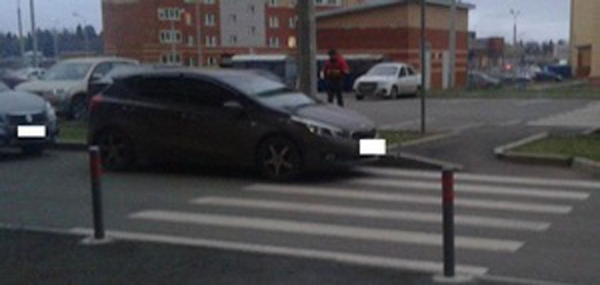 В Ижевске на пешеходном переходе сбили 6-летнюю девочку