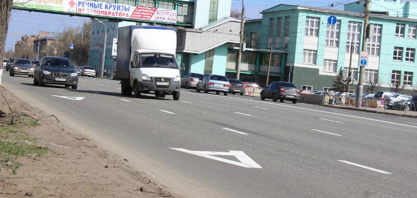 Почему на улице Удмуртской в Ижевске убирают «выделенку» для общественного транспорта?