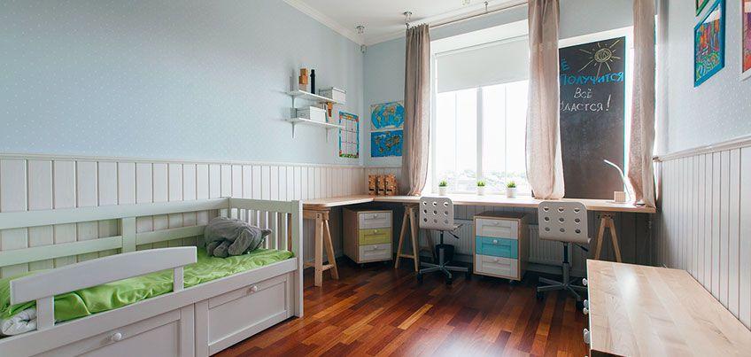 Квартира недели: как сделать одну детскую для трех разновозрастных детей