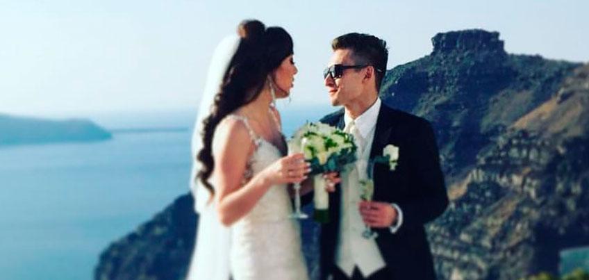 Гимнаст из Удмуртии Давид Белявский женился 30 октября в Греции