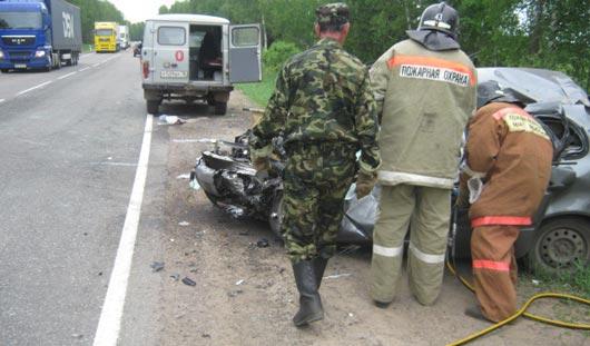 8 июня в Удмуртии в авариях погибли три человека