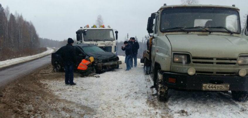 5 человек пострадали в ДТП в Удмуртии