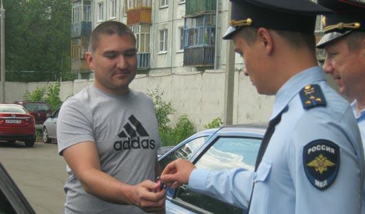 Полицейские Удмуртии вернули угнанные авто законным владельцам