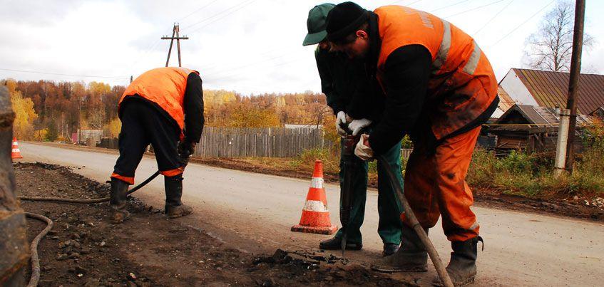 В Удмуртии завершают реконструкцию участков дорог Ижевск-Сарапул и Костино-Камбарка