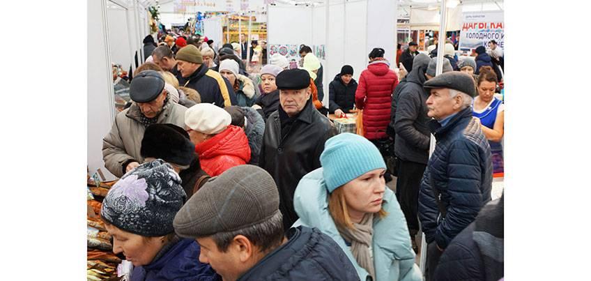 Народную ярмарку в Ижевске посетили 41 200 человек