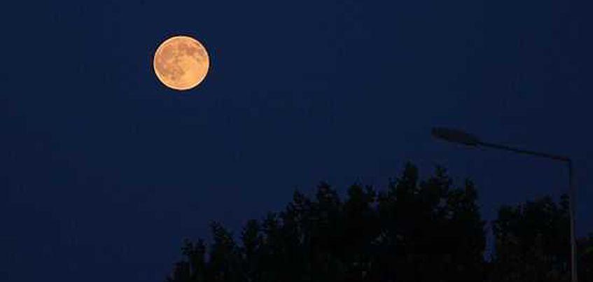 Крупнейшее суперлуние смогут наблюдать жители Удмуртии 14 ноября