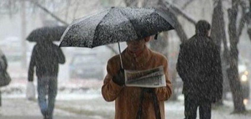 Снег в Ижевске будет идти весь день