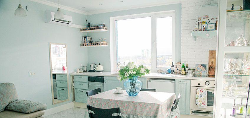 Квартира недели: как воплотить стиль прованс на кухне и в ванной