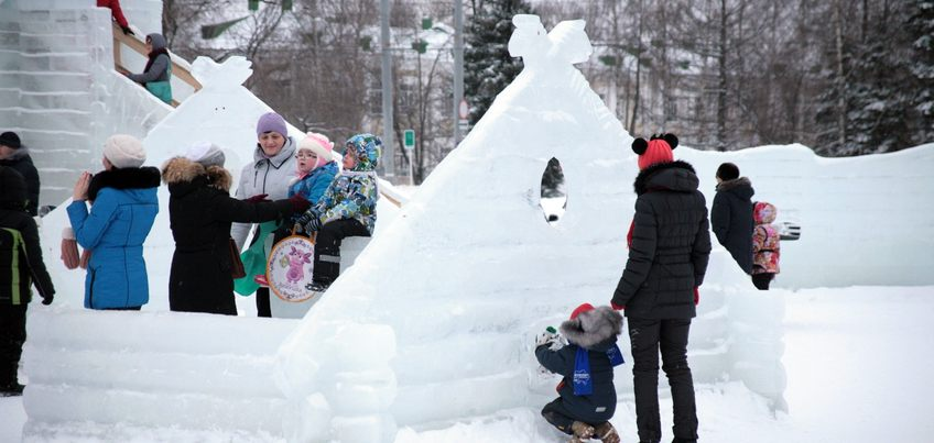 Ижевск потратит на возведение ледового городка 2 млн 200 тыс рублей