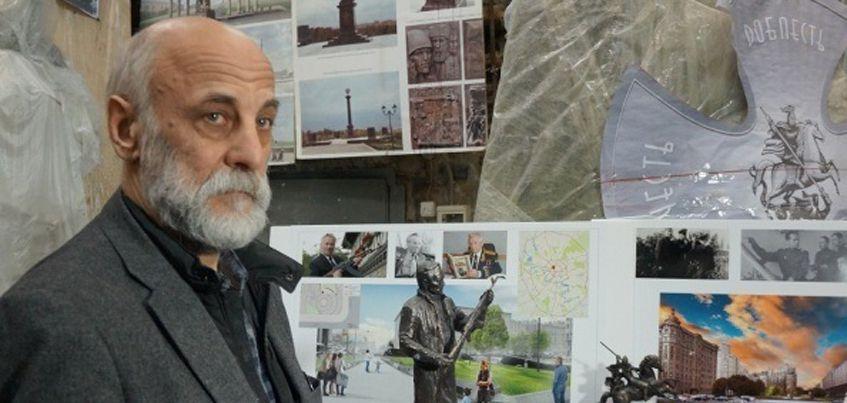 В Москве представили макет памятника Михаилу Калашникову